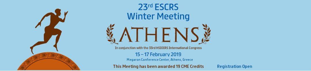 23o Χειμερινό Συνέδριο της ESCRS